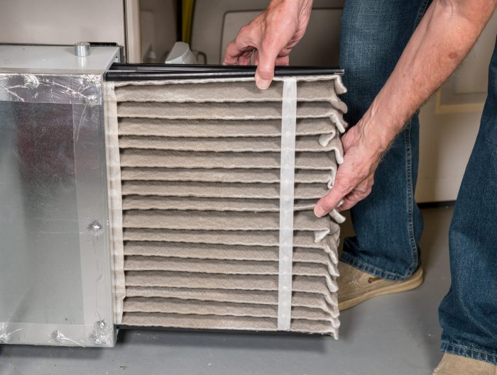 hvac filter recycle